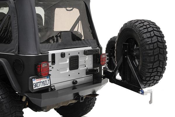 smittybilt XRC jeep bumpers swingaway