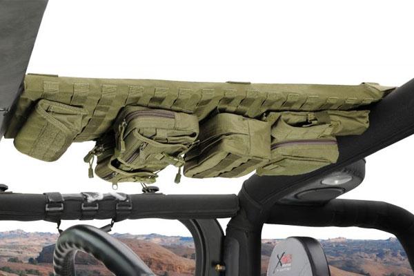 smittybilt gear overhead consoles installed