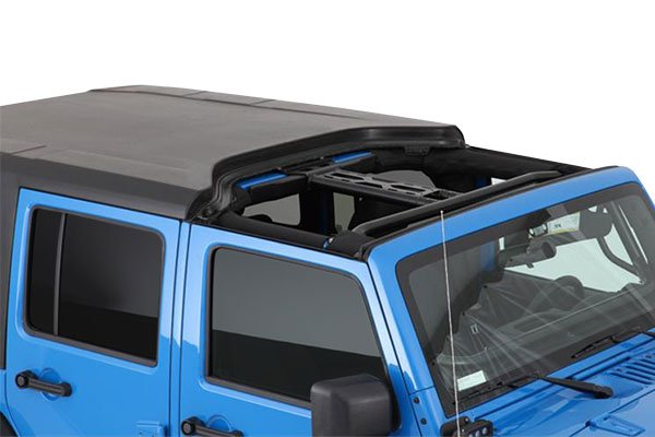 smittybilt hard top jk unlimited front section removed