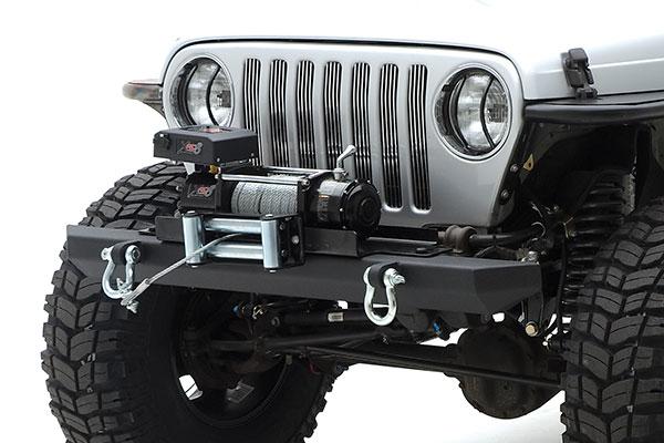 smittybilt jeep euro headlight guard front 1