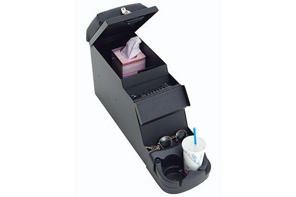 smittybilt jeep security stereo floor console 1