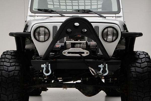 smittybilt jeep src front stinger bumper 2