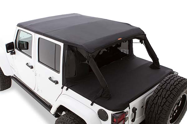 ... Your Bushwacker Trail Armor Jeep Soft Top Is Made With 30 Oz  Triple Layered Twill Material For A Quiet Ride ...