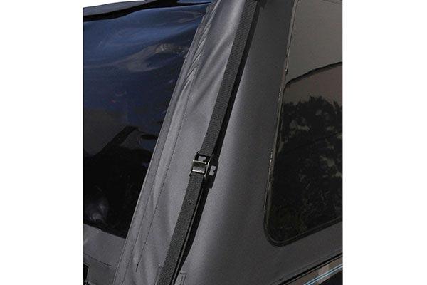 rampage frameless jeep soft top frameless strap