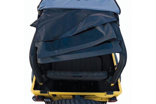 rampage frameless jeep soft top upper pocket