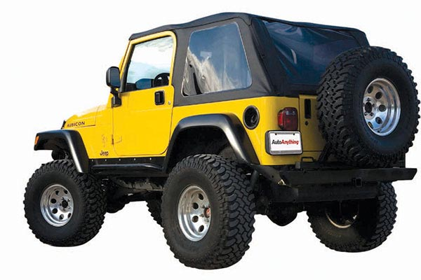 rampage frameless jeep soft top with windows