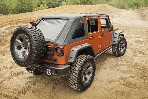 rugged ridge bowless jeep top lifestyle