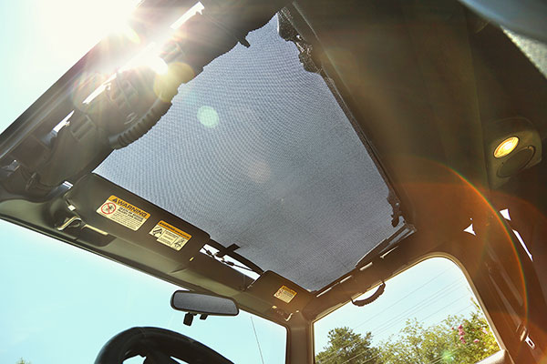 rugged ridge eclipse sun shade black see through