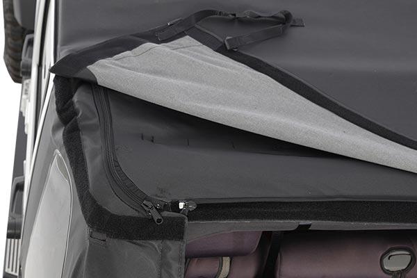 smittybilt bowless combo soft top inside zipper