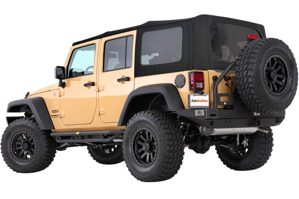 smittybilt premium replacement canvas soft top jk unlimited installed