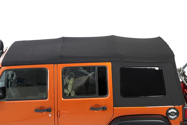 smittybilt premium replacement canvas soft top side profile