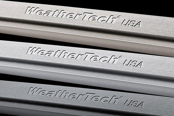 WeatherTech Billet License Frame Colors