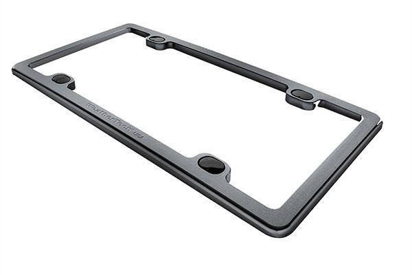 WeatherTech Billet License Plate Frame Black