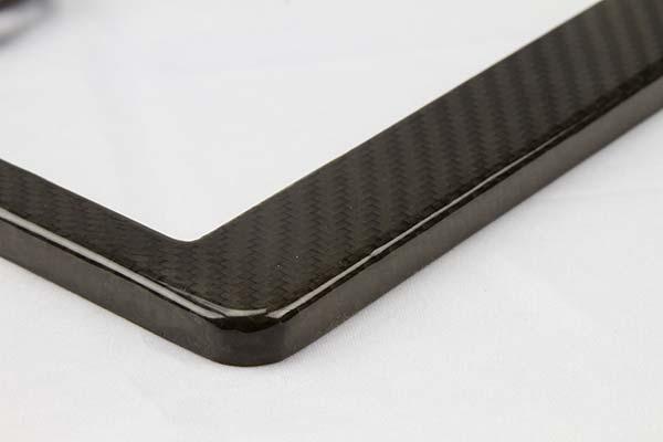 proz carbon fiber license plate frame detail1