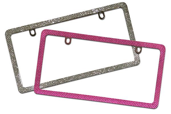 proz bling license plate frame colors