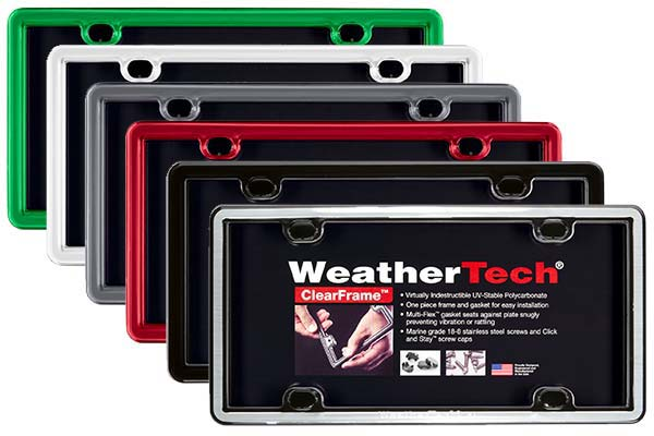 weathertech-clearcover-license-plate-frame-colors