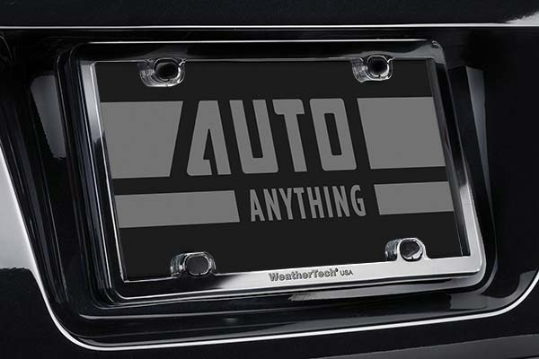 weathertech-clearframe-license-plate-black-installed
