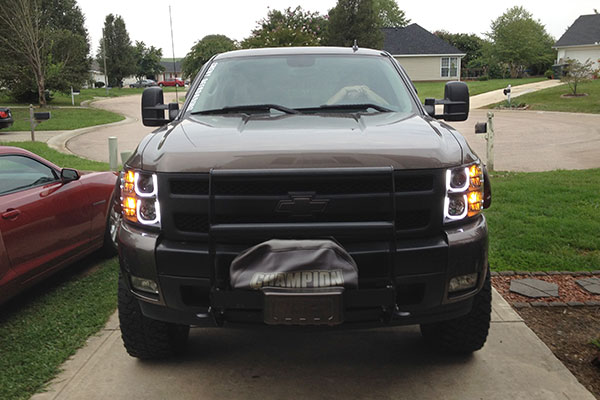 3982 anzo headlights chevy silverado