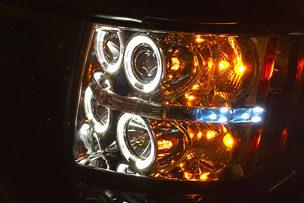 5221 spyder headlights silverado
