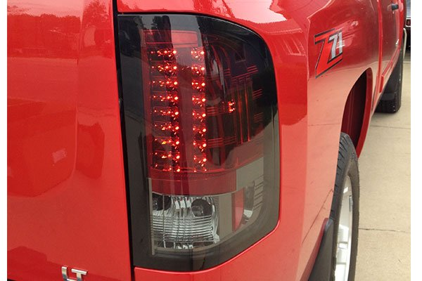 5222 spyder led tail lights chevy silverado