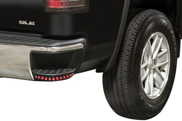 anzo led rear bumper step lights detail sierra