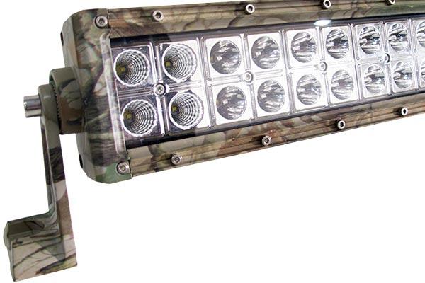 camo cree led light bars detail
