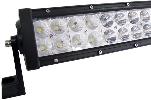 double row cree led light bars detail