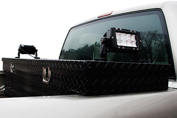 heavy duty cree led light bars 4in installed