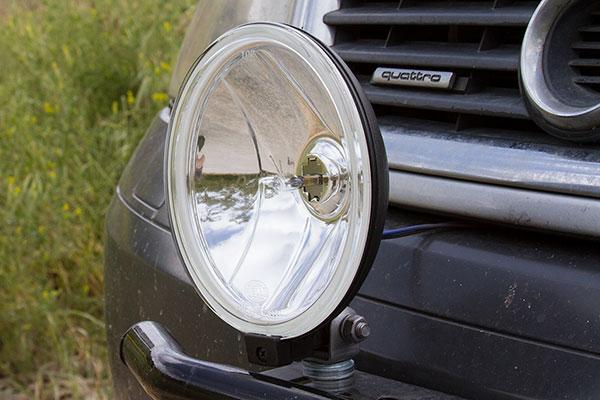 hella 500 light kit installed audi allroad detail