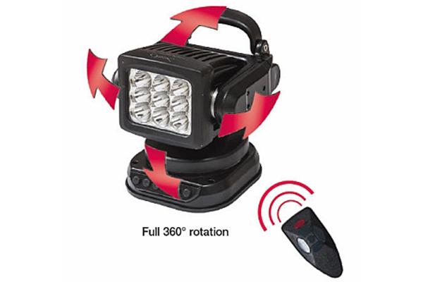 hella optillux 360rc led work lamp remote