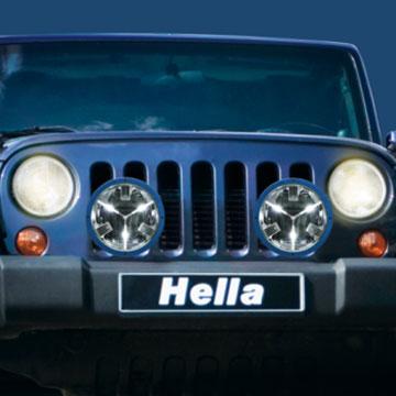 hella rallye 4000 led driving light free shipping. Black Bedroom Furniture Sets. Home Design Ideas