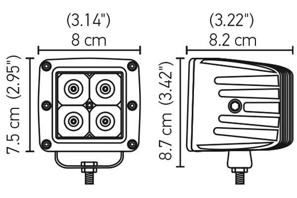hella value fit led light cube chart
