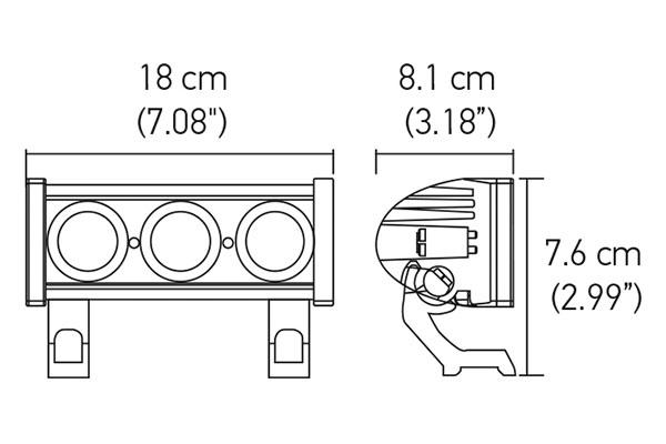 hella value fit led modular light bar 12684 chart