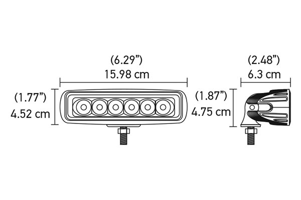 hella value fit mini led light bar 12681 chart