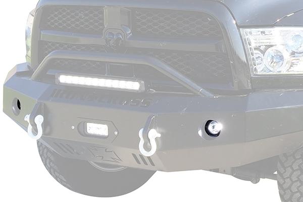 iron cross hd jeep bumper led light kit ram lifestyle