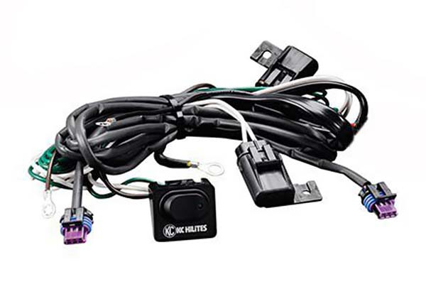 kc hilites carbon pod led lights cords