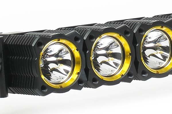kc hilites flex array add on led light detail