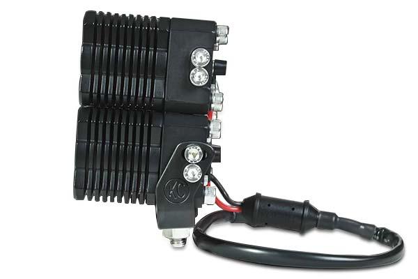 kc hilites flex quad led light system side