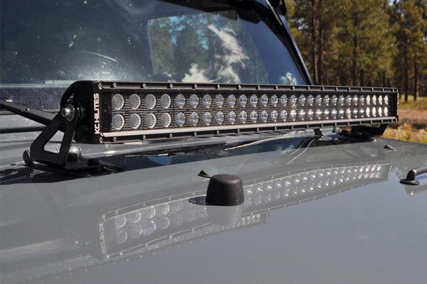 kc hilites c series led light kits mount hood