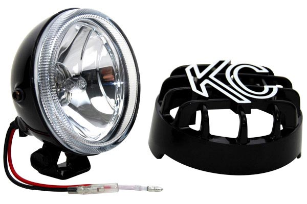 kc hilites rally 400 driving lights light with cover