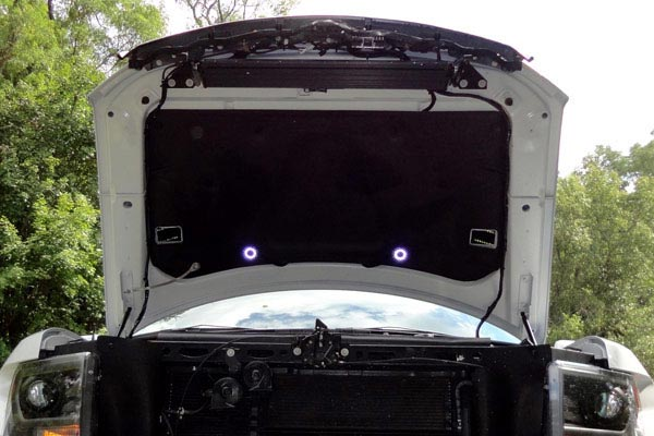 kc hilites underhood cyclone led light kits installed raptor