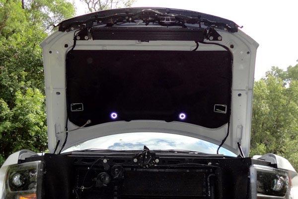 kc hilites underhood cyclone led light kits installed raptor