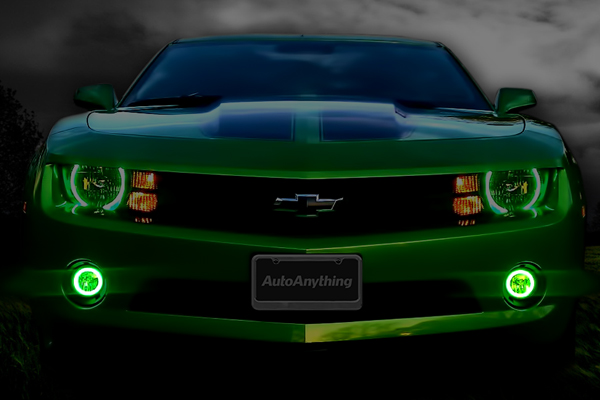 oracle fog light halo kits charger lifestylegreen camaro