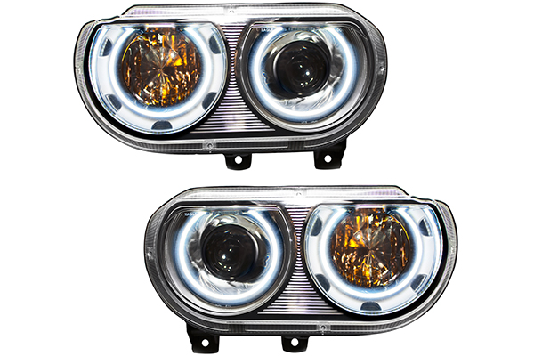 oracle headlight halo kits challenger headlights