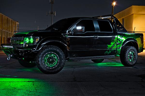 oracle illuminated led wheel rings ford raptor lifestyle