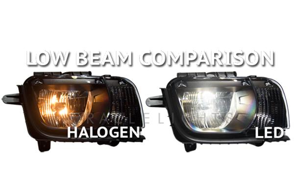 oracle premium led headlight bulb conversion kits low beam led comparison