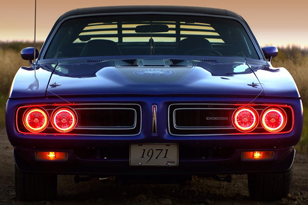 oracle sealed beam conversion headlights dodge charger lifestyle