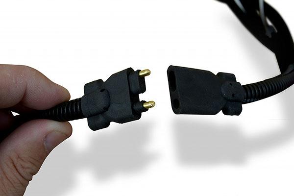poison spyder led light harness connection