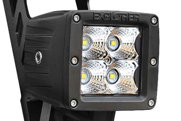 pro comp dual led sport light kit detail