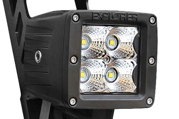 pro comp dual led sport light kit detail